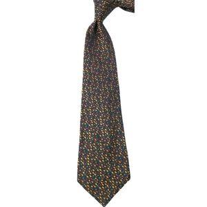 Salvatore Ferragamo Red/Black/Yellow Silk Tie